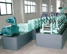 High frequency straight seam welded pipe units
