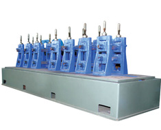 Precision high frequency welded pipe units